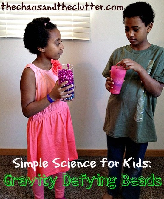 Simple Science for Kids - Gravity Defying Beads