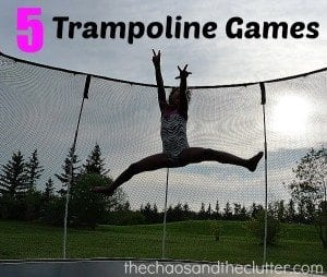 5 Trampoline Games (plus 5 bonus activities)