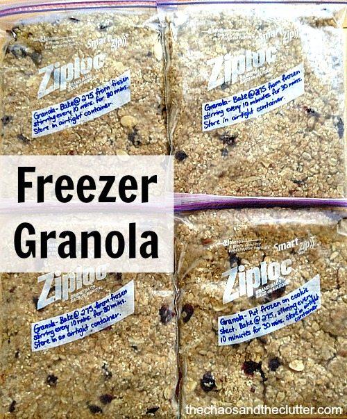 Freezer Granola