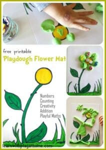 Printable Playdough Mats