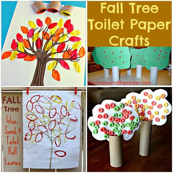 Fall Tree Toilet Paper Crafts