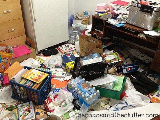 Office Clutter
