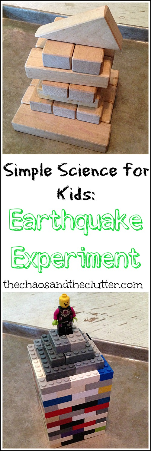 Simple Science Earthquake Experiment