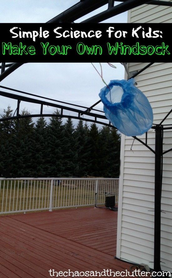 Simple Science for Kids: Make Your Own Windsock