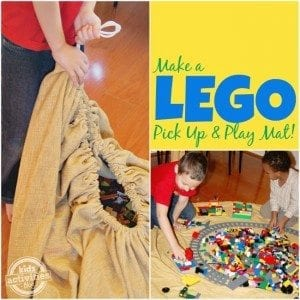 Lego Storage Play Mat