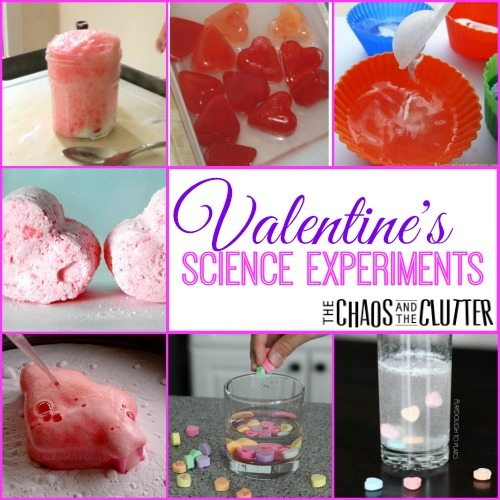 Valentine's Science Experiments