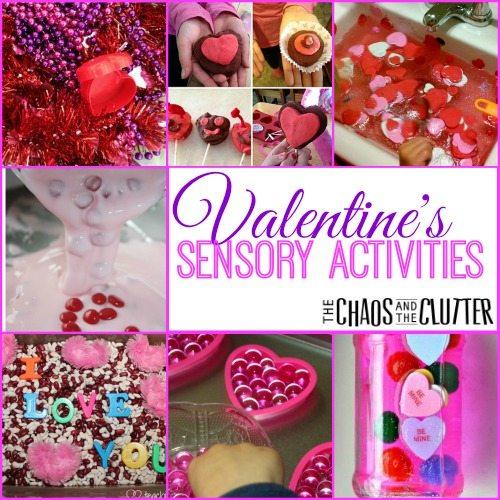 Valentine's Sensory Activities