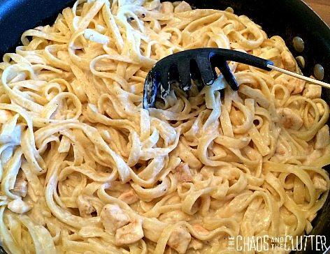 Cajun Chicken Alfredo One Dish Pasta